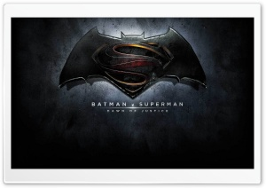 Batman VS Superman Logo HD Wide Wallpaper for Widescreen