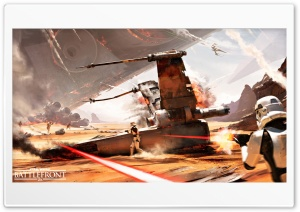 Battle Of Jakku Star Wars Battlefront HD Wide Wallpaper for Widescreen