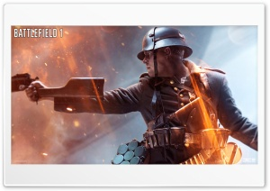 Battlefield 1 Game World War I HD Wide Wallpaper for 4K UHD Widescreen desktop & smartphone