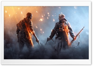 Battlefield 1 Squads HD Wide Wallpaper for 4K UHD Widescreen desktop & smartphone