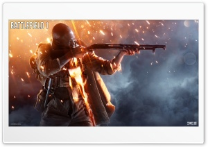 Battlefield 1 Video Game Background HD Wide Wallpaper for Widescreen