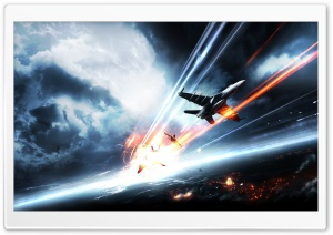 Battlefield 3 - Aircrafts HD Wide Wallpaper for Widescreen