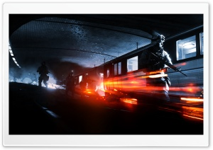 Battlefield 3 - Operation Metro HD Wide Wallpaper for Widescreen