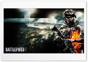 Battlefield 3 B2K HD Wide Wallpaper for Widescreen