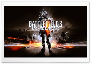Battlefield 3 Back To Karkand HD Wide Wallpaper for Widescreen