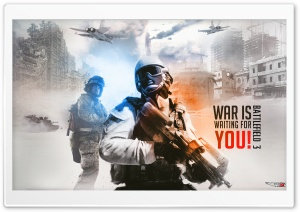 Battlefield 3 Background HD Wide Wallpaper for Widescreen