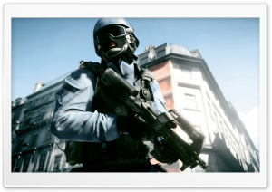 Battlefield 3 (BF3) HD Wide Wallpaper for Widescreen