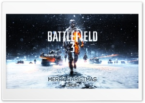 Battlefield 3 (Chistmas) HD Wide Wallpaper for 4K UHD Widescreen desktop & smartphone