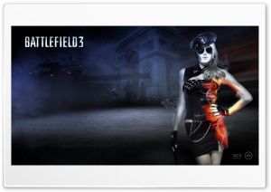 Battlefield 3 Girl HD Wide Wallpaper for Widescreen