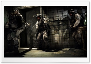 Battlefield 3 Soldiers HD Wide Wallpaper for Widescreen