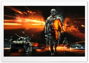 Battlefield 3 video game HD Wide Wallpaper for 4K UHD Widescreen desktop & smartphone