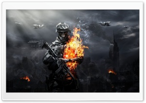 Battlefield 3 Zombies HD Wide Wallpaper for Widescreen