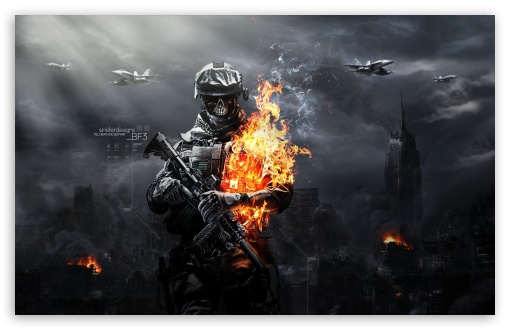 Battlefield 3 Zombies HD wallpaper for Standard 4:3 5:4 Fullscreen ...