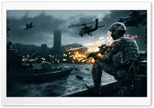 Battlefield 4 Siege of Shanghai HD Wide Wallpaper for 4K UHD Widescreen desktop & smartphone