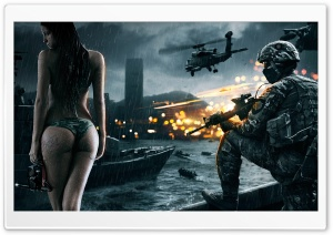 Battlefield 4 Wallpaper - Good day for a dive HD Wide Wallpaper for Widescreen