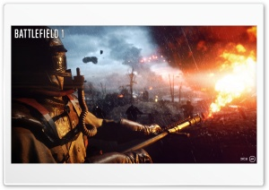 Battlefield 1 HD Wide Wallpaper for 4K UHD Widescreen desktop & smartphone