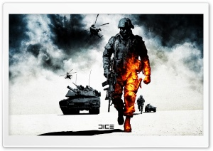 Battlefield Bad Company 2 HD Wide Wallpaper for Widescreen