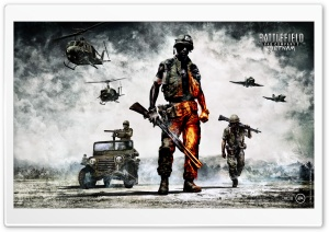 Battlefield Bad Company 2   Vietnam HD Wide Wallpaper for 4K UHD Widescreen desktop & smartphone