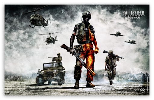 Battlefield Bad Company 2   Vietnam HD wallpaper for Wide 16:10 5:3 Widescreen WHXGA WQXGA WUXGA WXGA WGA ; HD 16:9 High Definition WQHD QWXGA 1080p 900p 720p QHD nHD ; Standard 4:3 3:2 Fullscreen UXGA XGA SVGA DVGA HVGA HQVGA devices ( Apple PowerBook G4 iPhone 4 3G 3GS iPod Touch ) ; iPad 1/2/Mini ; Mobile 4:3 5:3 3:2 16:9 - UXGA XGA SVGA WGA DVGA HVGA HQVGA devices ( Apple PowerBook G4 iPhone 4 3G 3GS iPod Touch ) WQHD QWXGA 1080p 900p 720p QHD nHD ;