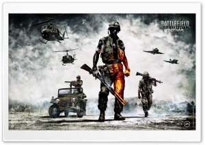 Battlefield Bad Company 2 Vietnam HD Wide Wallpaper for Widescreen