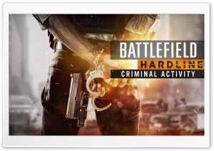 Battlefield Hardline Criminal Activity HD Wide Wallpaper for 4K UHD Widescreen desktop & smartphone