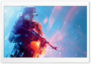 Battlefield V Girl Ultra HD Wallpaper for 4K UHD Widescreen desktop, tablet & smartphone