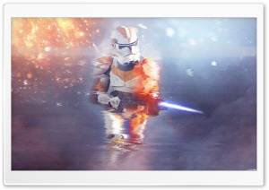Battlefront 1 212th Glitch Art HD Wide Wallpaper for Widescreen