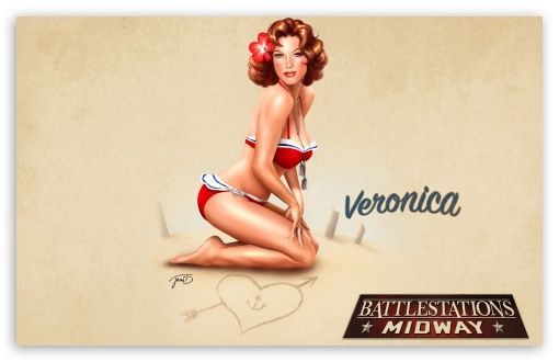 Battlestations Midway Pin Up HD wallpaper for Wide 16:10 5:3 Widescreen WHXGA WQXGA WUXGA WXGA WGA ; Standard 4:3 5:4 3:2 Fullscreen UXGA XGA SVGA QSXGA SXGA DVGA HVGA HQVGA devices ( Apple PowerBook G4 iPhone 4 3G 3GS iPod Touch ) ; iPad 1/2/Mini ; Mobile 4:3 5:3 3:2 5:4 - UXGA XGA SVGA WGA DVGA HVGA HQVGA devices ( Apple PowerBook G4 iPhone 4 3G 3GS iPod Touch ) QSXGA SXGA ;