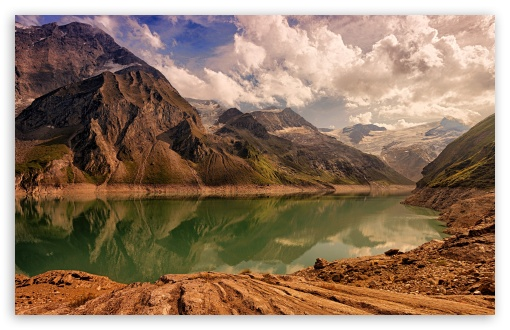 Download Bavarian Alps Mountains, Lake, Berchtesgaden,... HD Wallpaper