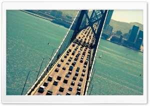 Bay Bridge Ultra HD Wallpaper for 4K UHD Widescreen desktop, tablet & smartphone