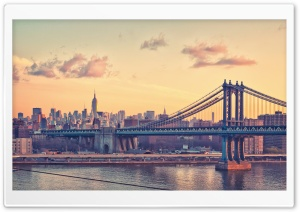 Bay Bridge, New York HD Wide Wallpaper for Widescreen