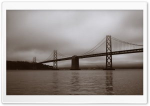Bay Bridge, San Francisco, Califonia HD Wide Wallpaper for Widescreen