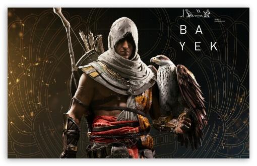 Download Bayek, Assassins Creed Origins Game HD Wallpaper
