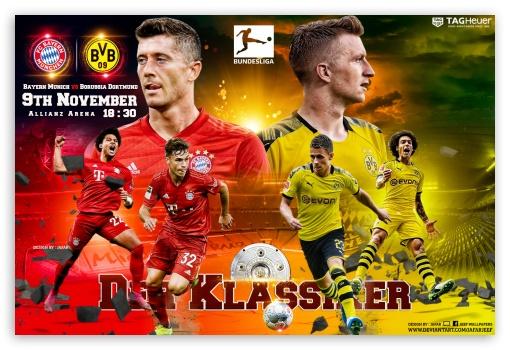 Bayern Munchen Borussia Dortmund Ultra Hd Desktop Background Wallpaper For