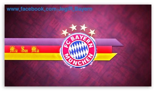 Bayern Munchen logo 4K HD Desktop Wallpaper for 4K Ultra HD TV