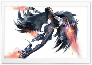Bayonetta 2 HD Wide Wallpaper for Widescreen