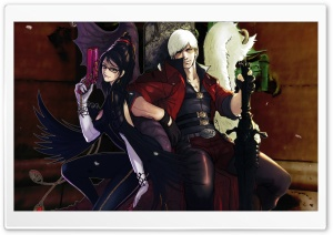 Bayonetta And Dante   Devil May Cry HD Wide Wallpaper for Widescreen