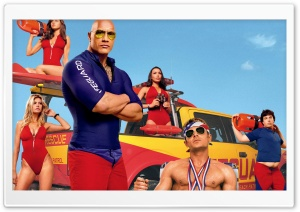 Baywatch 2017 Movie HD Wide Wallpaper for Widescreen