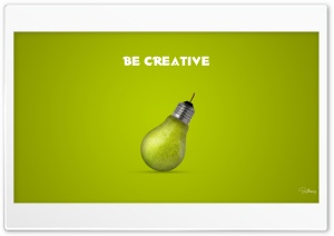 Be Creative HD Wide Wallpaper for 4K UHD Widescreen desktop & smartphone