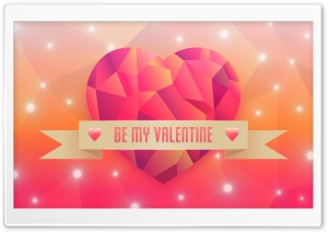Be My Valentine HD Wide Wallpaper for Widescreen