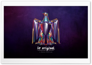Be Original - A Proud Egyptian HD Wide Wallpaper for Widescreen