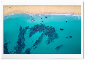 Beach Aerial Photography Ultra HD Wallpaper for 4K UHD Widescreen desktop, tablet & smartphone