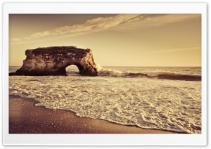 Beach Arch HD Wide Wallpaper for Widescreen