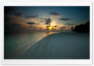 Beach At Sunset HD Wide Wallpaper for Widescreen