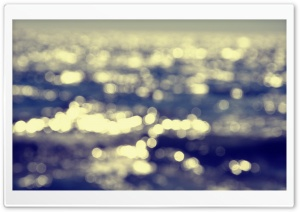 Beach Bokeh HD Wide Wallpaper for Widescreen