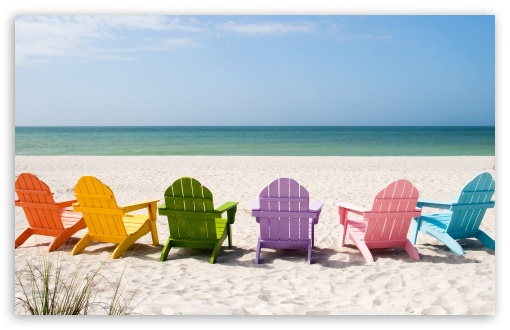 Beach Chairs HD wallpaper for Wide 16:10 5:3 Widescreen WHXGA WQXGA WUXGA WXGA WGA ; HD 16:9 High Definition WQHD QWXGA 1080p 900p 720p QHD nHD ; Standard 4:3 3:2 Fullscreen UXGA XGA SVGA DVGA HVGA HQVGA devices ( Apple PowerBook G4 iPhone 4 3G 3GS iPod Touch ) ; iPad 1/2/Mini ; Mobile 4:3 5:3 3:2 16:9 - UXGA XGA SVGA WGA DVGA HVGA HQVGA devices ( Apple PowerBook G4 iPhone 4 3G 3GS iPod Touch ) WQHD QWXGA 1080p 900p 720p QHD nHD ;