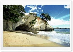 Beach Digital Art HD Wide Wallpaper for Widescreen