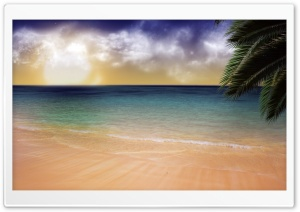 Beach Dream HD Wide Wallpaper for Widescreen