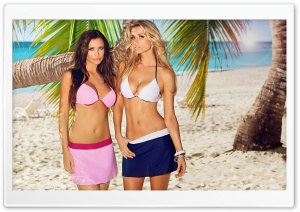 Beach Girls HD Wide Wallpaper for Widescreen