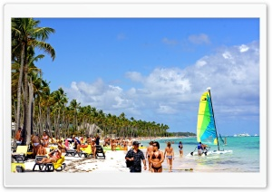 Beach In Dominican Republic Ultra HD Wallpaper for 4K UHD Widescreen desktop, tablet & smartphone